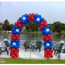 Party Rental Flowers Balloon Arch