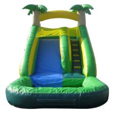 JumpOrange Commercial Grade 14' Tropical Xtreme Wet Dry Inflatable