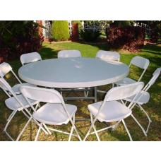 Round Tables Rental