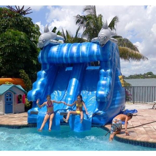 Dolphin Water Slide Rentals Miami Party Rentals