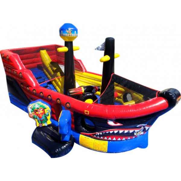 Inflatable Pirate Ship Bounce House Miami Party Rentals