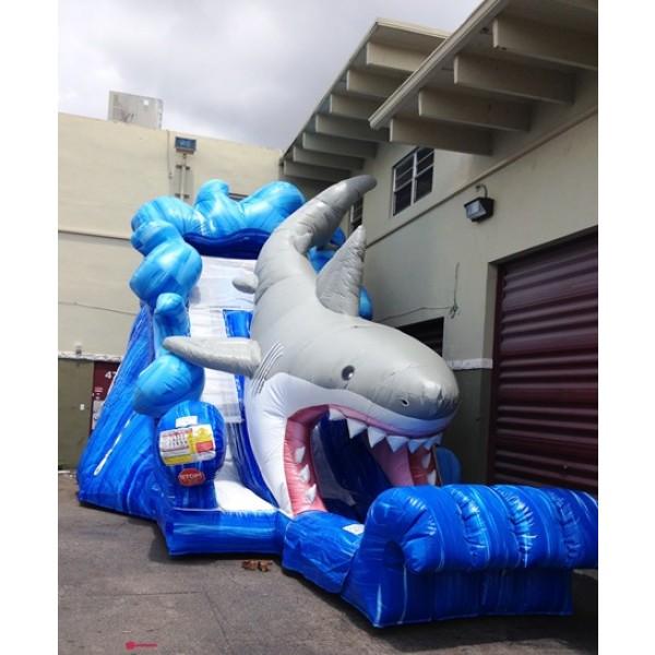 Inflatable Slide Rental Prices: Shark Water Slide Rentals