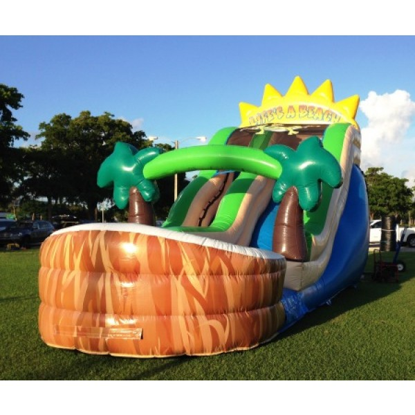 Inflatable Water Slide To Rent: Inflatable Water Slide Rental