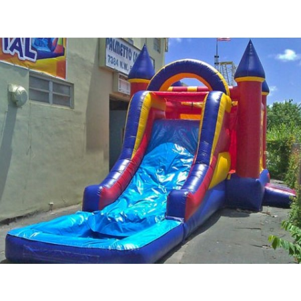 Inflatable Water Slide To Rent: Super Castle Water Slide Rentals
