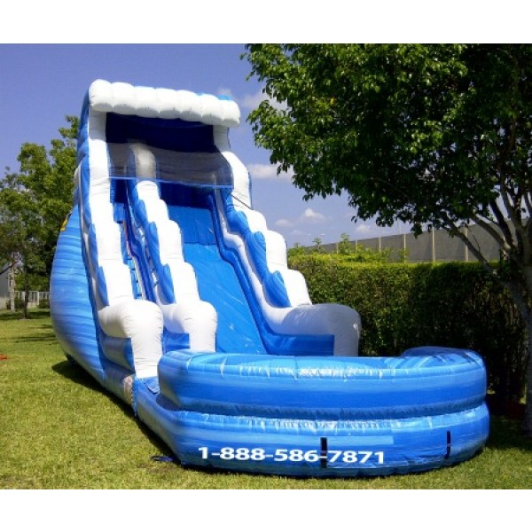 Wave Water Slide Inflatable Water Slides