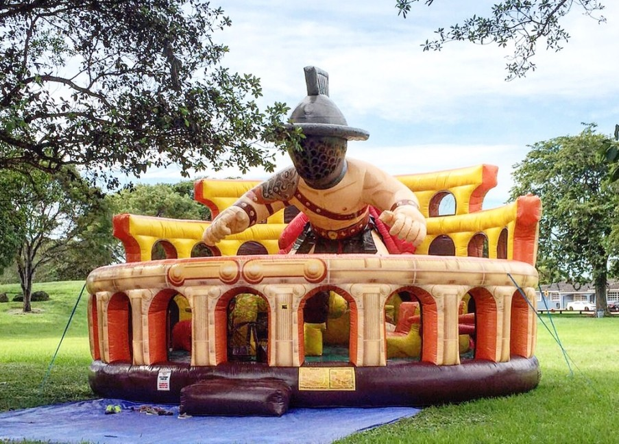 Inflatable Gladiator Bounce House Rentals Party Rental