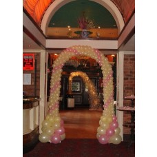 Party Rental Balloons Champagne Arch