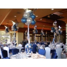 Party Rental Balloons Blue Decoration