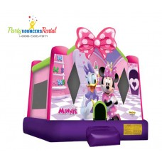 Minnie and Daisy Bounce House