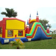 Dry Slide Bounce House