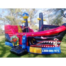 Inflatable Pirate Ship Bounce House