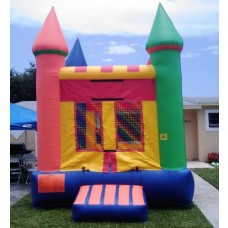 Multi Color Bouncy House