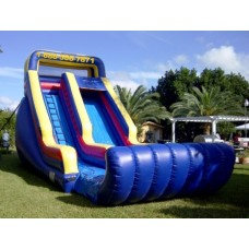 Sunny Inflatable Slide
