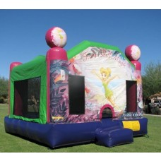 3D Bounce House Tinkerbell.