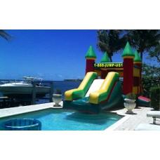Castle Water Slide