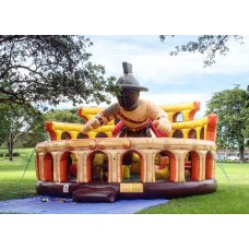 Inflatable Gladiator Bounce House